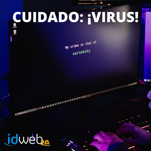 ATENCIÓN: CUIDADO con los VIRUS Y ESTAFAS online