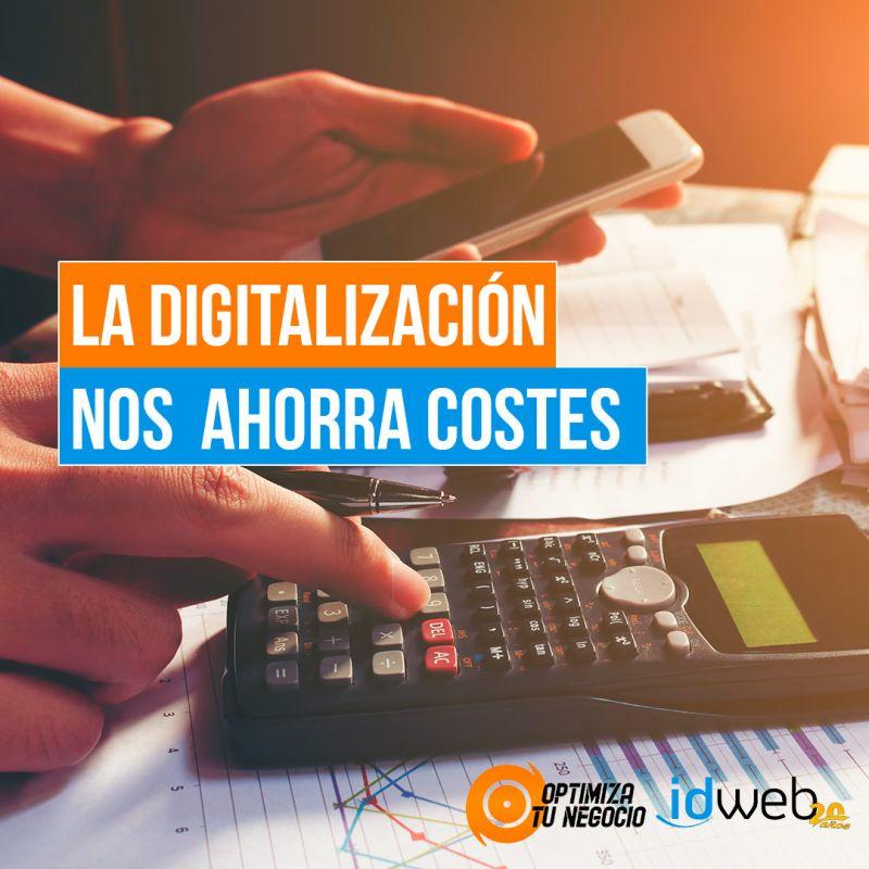 ¿Cuánto ayuda la digitalización a ahorrar en costes y mejorar la productividad?