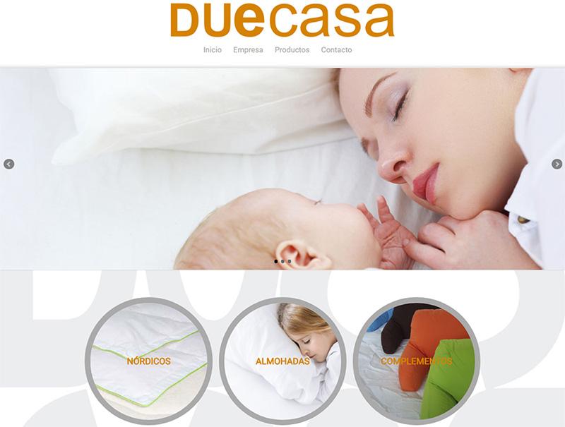 DUECASA. Nueva web catálogo