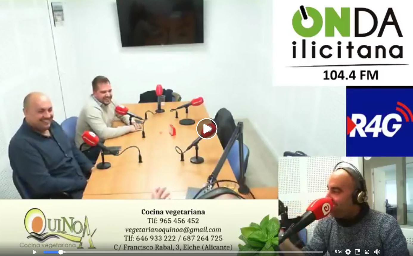 Entrevista a Roberto Esclapez de idweb en Radio 4G Elche