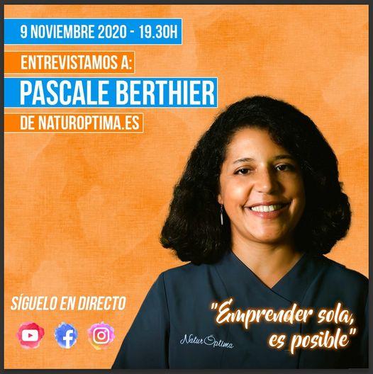 Entrevista en directo a Pascale Berthier de NaturOptima.es