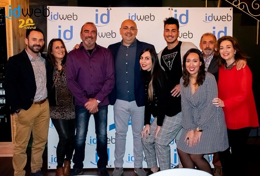 Fotos del 20 Aniversario idweb y vídeo presentación