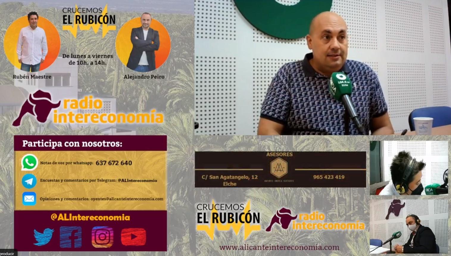 Me entrevistan en la Radio Onda Ilicitana