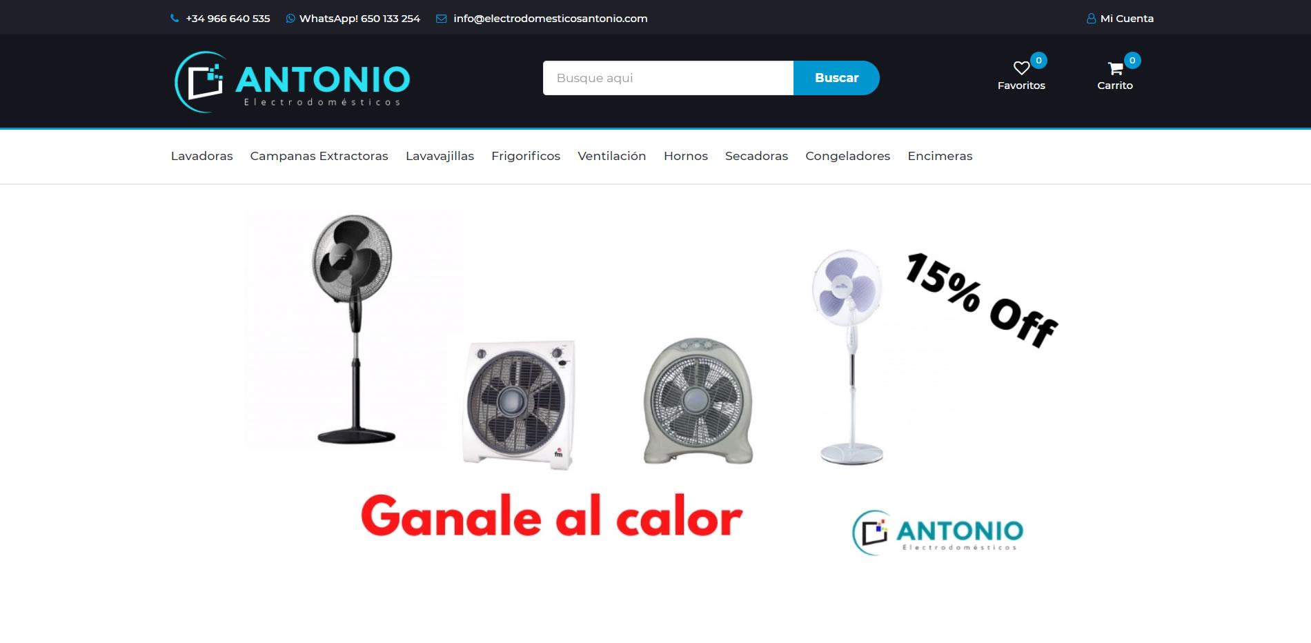 Electrodomésticos Antonio