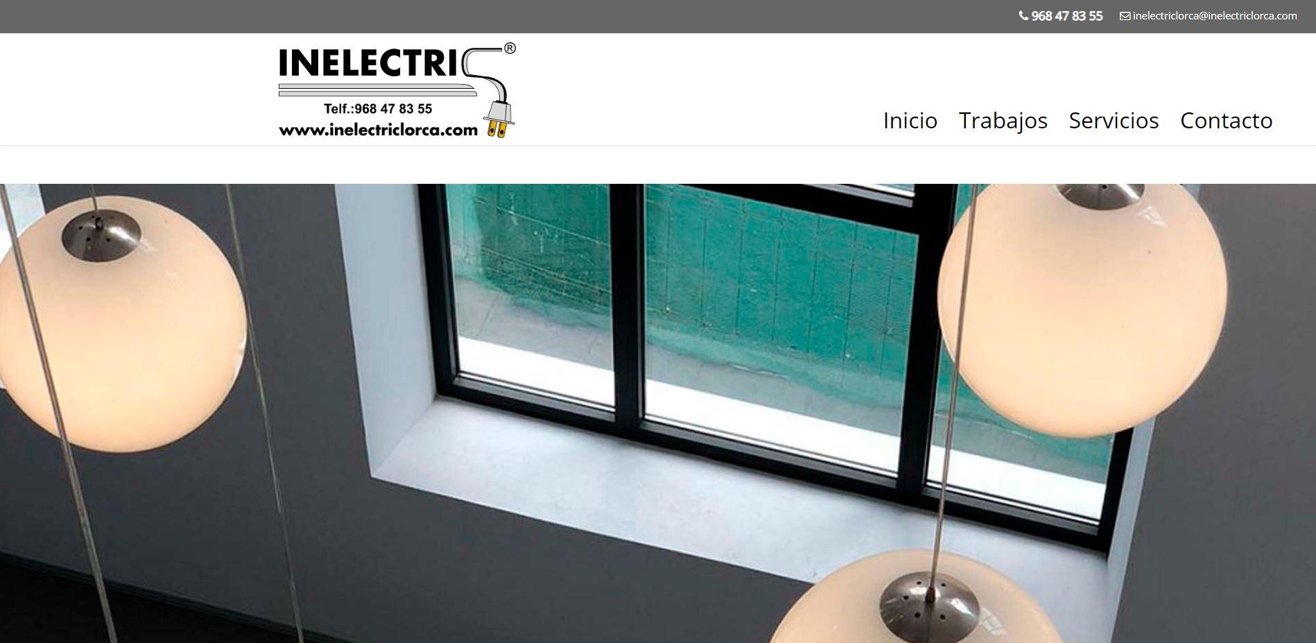 Inelectric Lorca - Instalación y mantenimiento de sistemas eléctricos industriales y domésticos