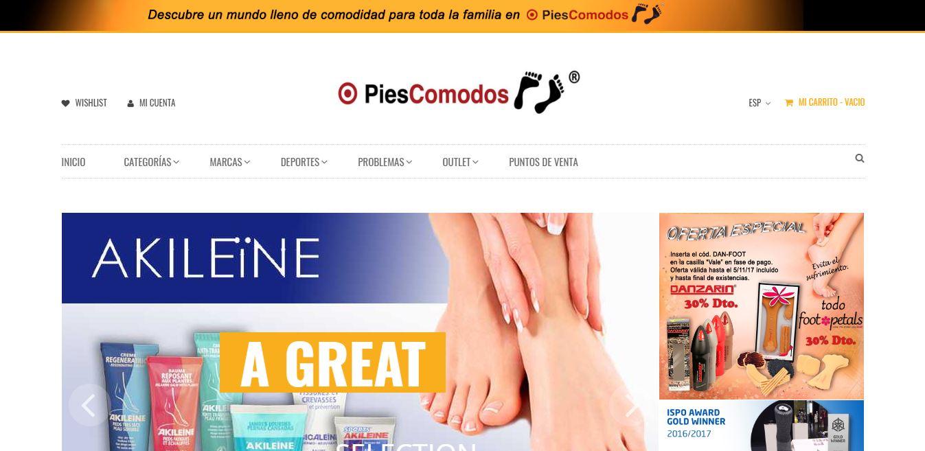 web PiesComodos