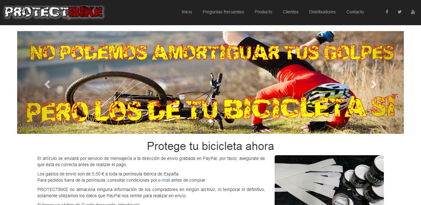 web Protectbike