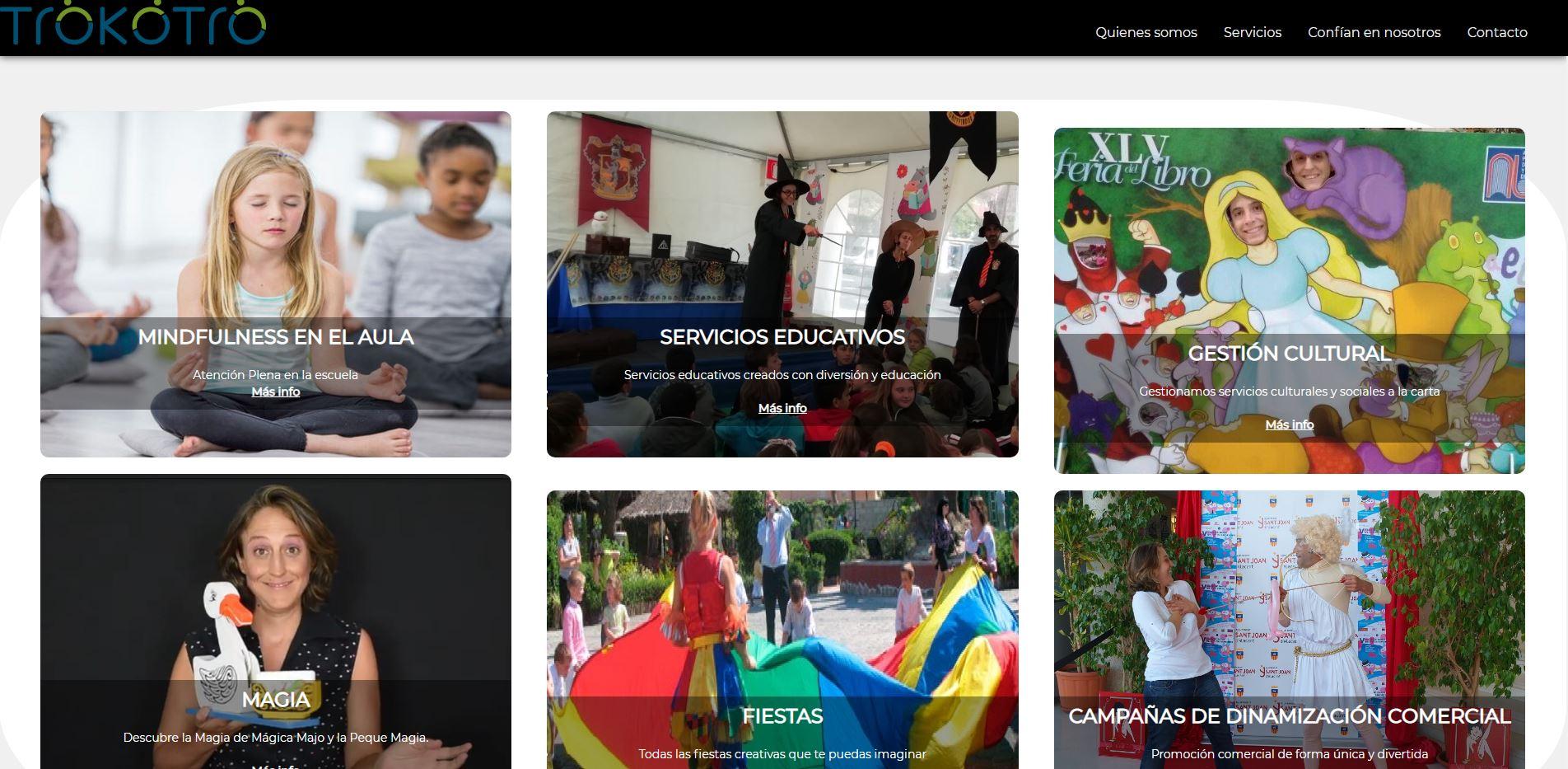 trokotro - Fusión de la animación socio cultural y la educación