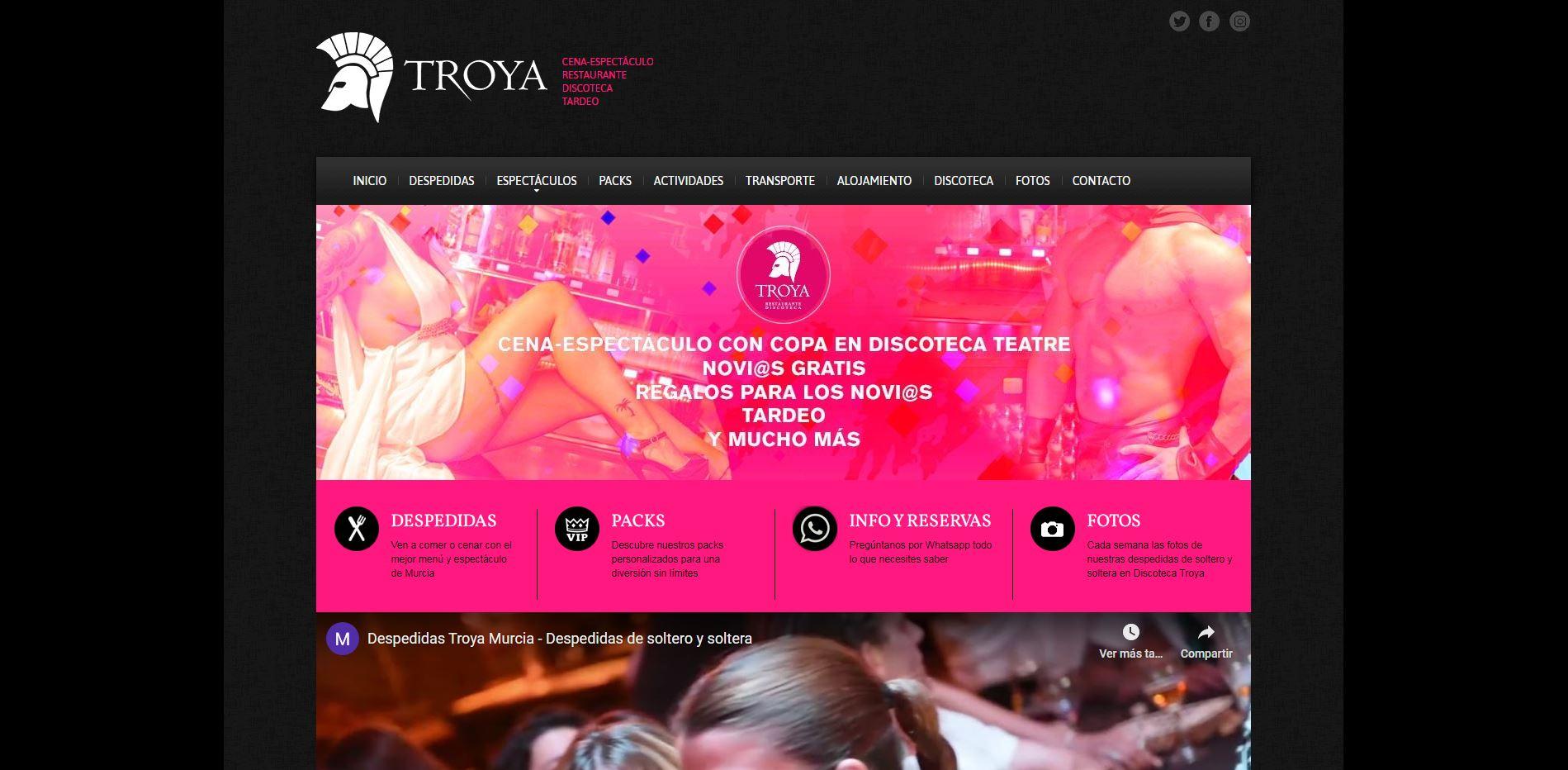 Discoteca Troya Murcia